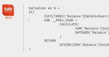 Programmation de requêtes en langage DAX dans Power BI